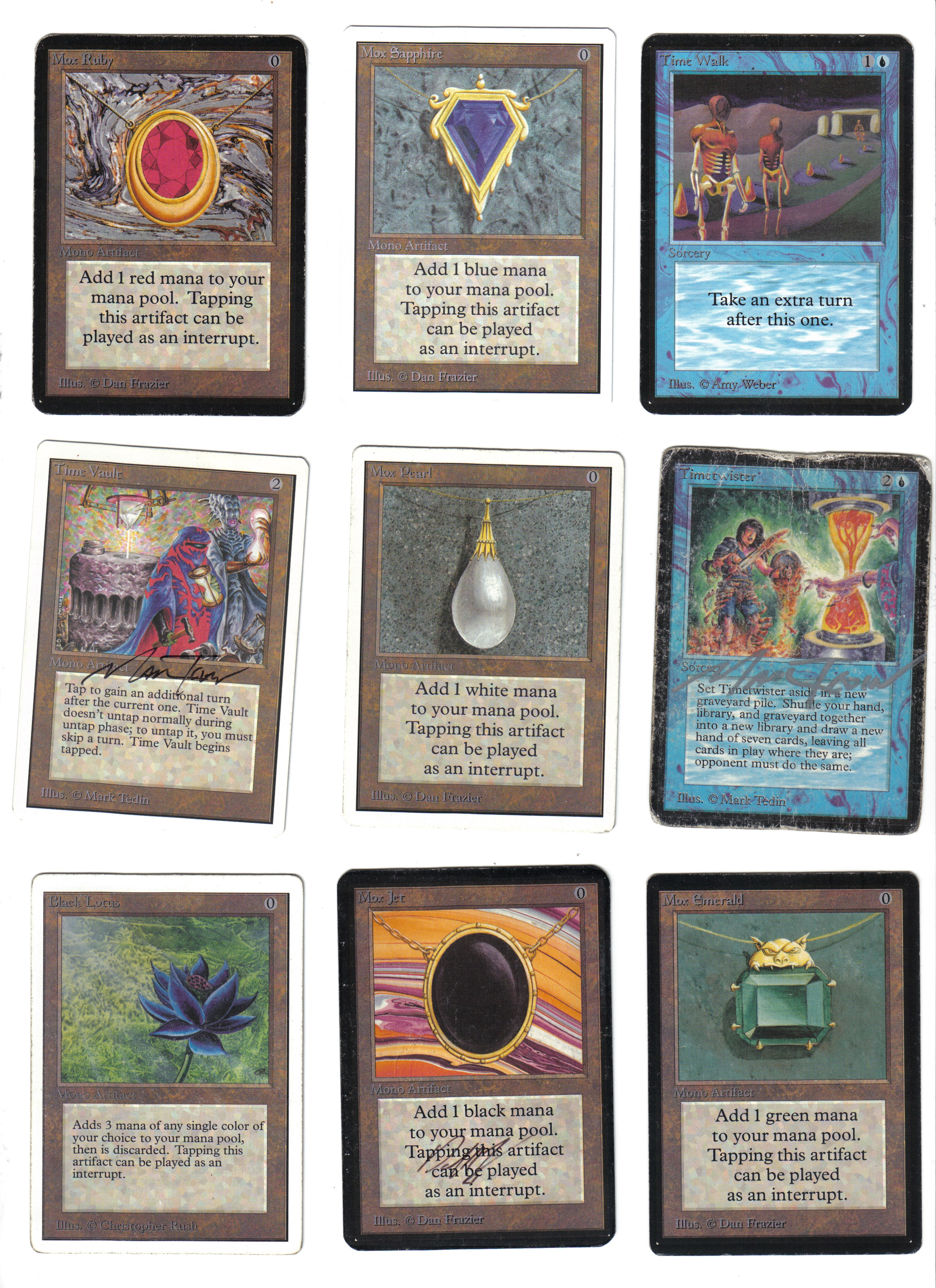 building a deck with no banned list or format - magic online trading