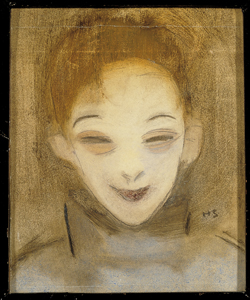 Helene Schjerfbeck: Katri hymyilee